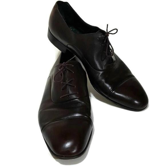 1e404a20240 Gucci Other - Vintage Gucci Mens Lace Up Oxfords Shoes Size 9.5